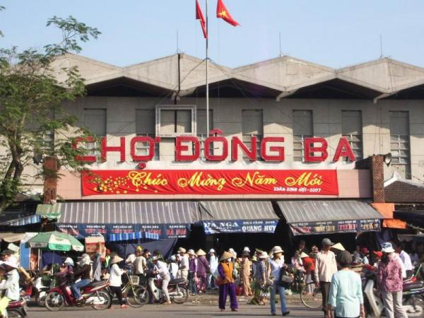 Chợ Đông Ba - Huế