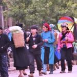 Phiên chợ lùi chỉ có ở Hà Giang