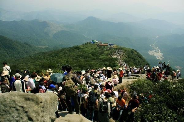 Hành trình chinh phục núi Yên Tử