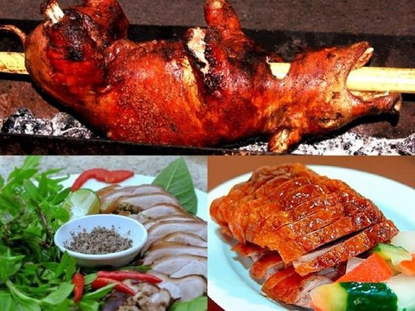 Thịt lợn cắp nách Sapa