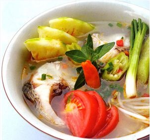Du lịch Sầm Sơn - món cá mè sông Mực béo ngậy thơm ngon
