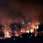 Cháy lớn tại khu du lịch Hải Hòa.