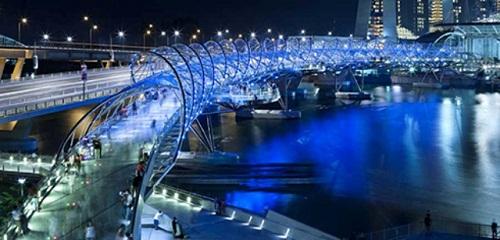 Cầu Helix sông Singapore