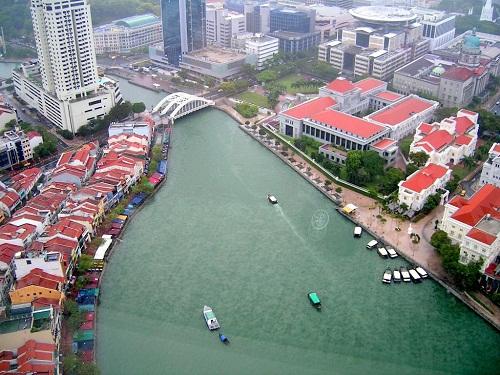 Lòng sông Singapore