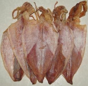 Mực khô đặc sản nổi tiếng Cát Bà