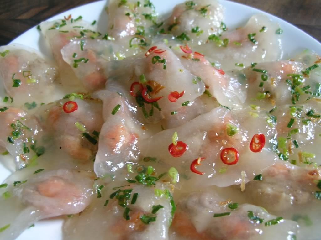 Bánh lọc bột sắn - Món ngon của ẩm thực Quảng Bình