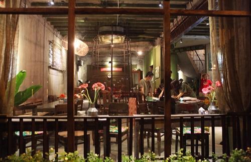 Quán cafe Cộng ở Đà Nẵng