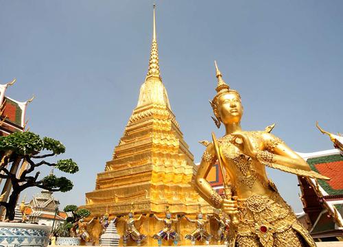 Chùa vàng Wat Tramit Thái Lan