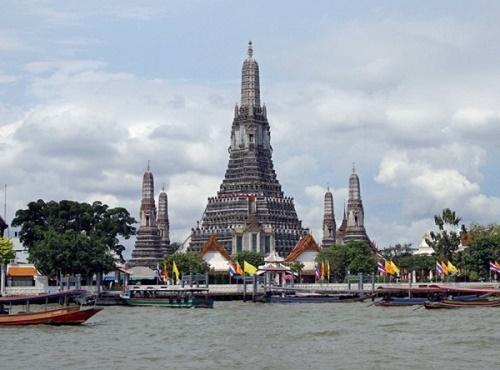 Vẻ đẹp trên dòng sông Chao Phraya