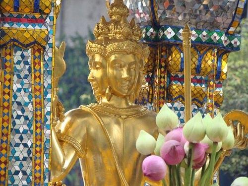 Tượng Phật 4 mặt nổi tiếng nhất thủ đô Bangkok