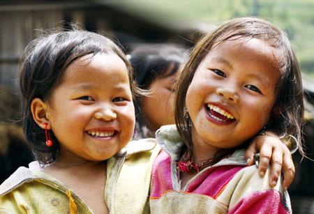 Cười là hạnh phúc