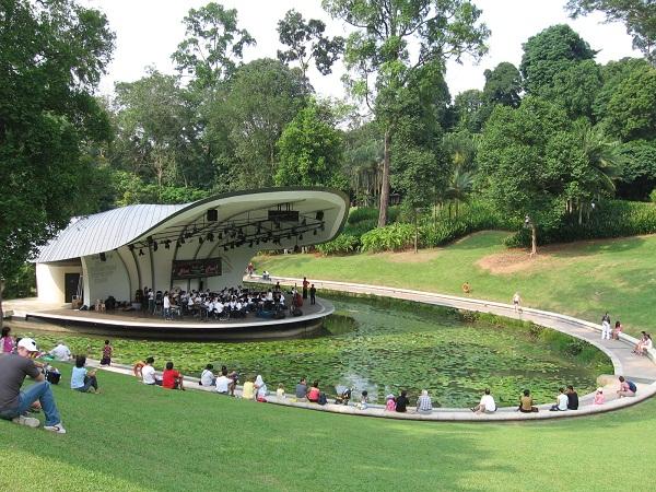 Khu vườn Bách thảo Botanic Gardens