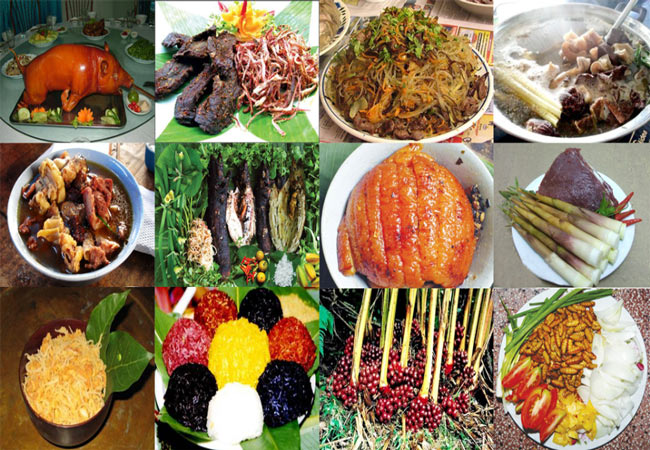 Đặc sản, món ngon của núi rừng Mai Châu