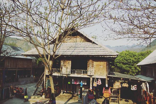 Một góc nhỏ bình yên tại Bản Pom Coọng - Mai Châu