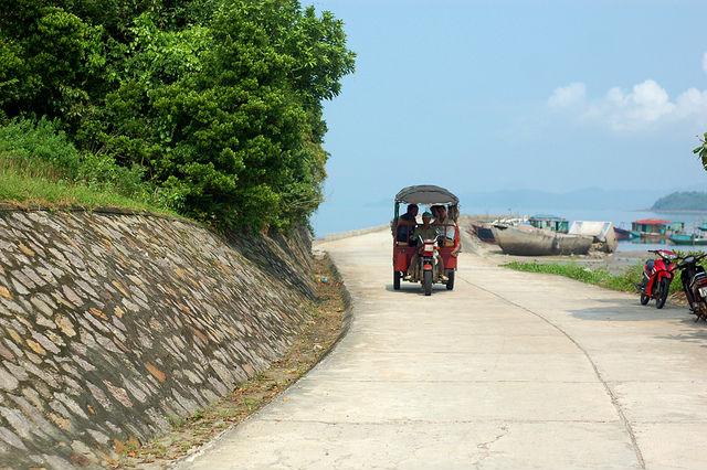 Phương tiện di chuyển phổ biến trên đảo