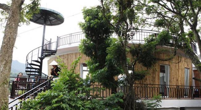 Khách sạn Mai Châu Sunset Boutique với lối thiết kế độc đáo