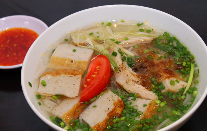 Bún chả cá đặc sản của Nha Trang
