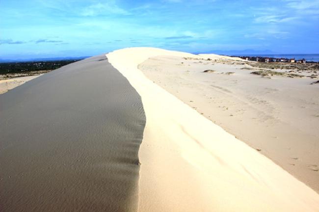 Những đồi cát trải dài