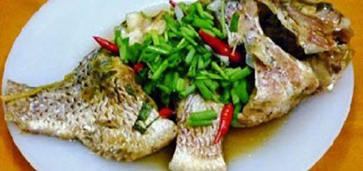 Cá mè luộc