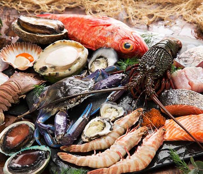 Hải sản tươi sống Quảng Ninh